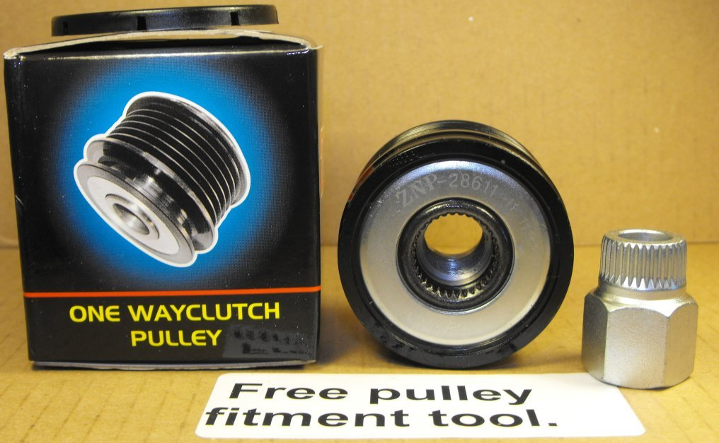 Clutch Pulley to fit Citroen Xsara Picasso diesel with free fitment tool Multiniche Limited MNCP3116R