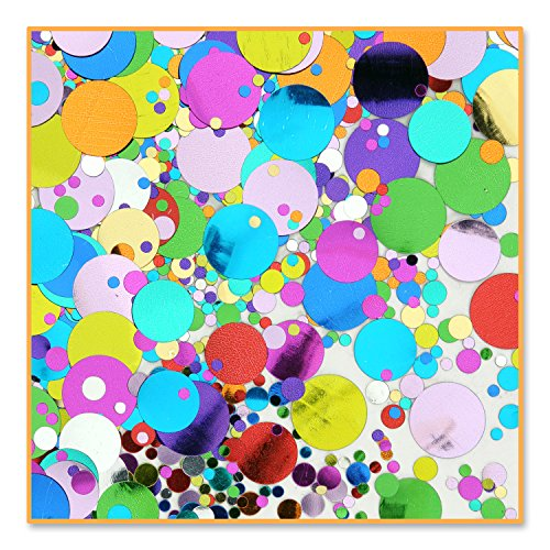 Party Polkadots Confetti (Pack of 96) by Beistle