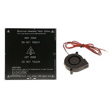 MagiDeal Cama Calefacción 3 mm Aluminio PCB Heatbed para MK3/Mk2 A ...