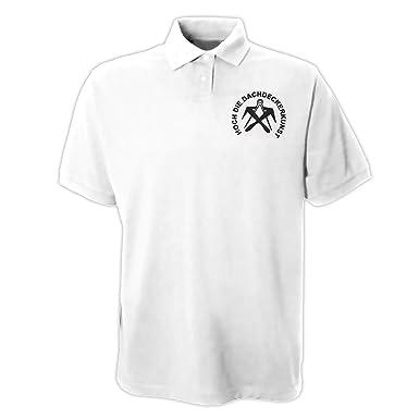 shirtmachine - Polo - Camisa polo - para hombre blanco: Amazon.es ...