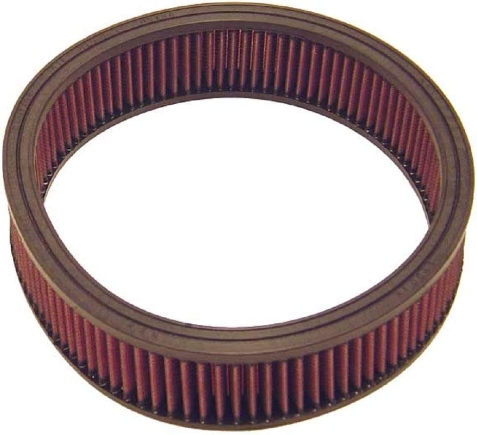 K&N Engine Air Filter: High Performance, Premium, Washable, Replacement Filter: Fits Select 1975-1987 OPEL/VAUXHALL/CHEVROLET/GMC Vehicle Models (See Description for Fitment Information), E-1035