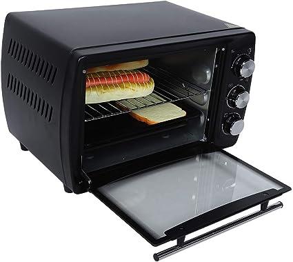 Mini horno eléctrico 20 L, horno de convección de escritorio ...