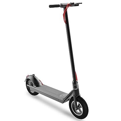 RND M1 - Patinete Scooter Eléctrico Plegable para Adultos, Control de Pie, Doble Freno, cómodo neumático de vacío de 10,5 Pulgadas, Batería LG, ...
