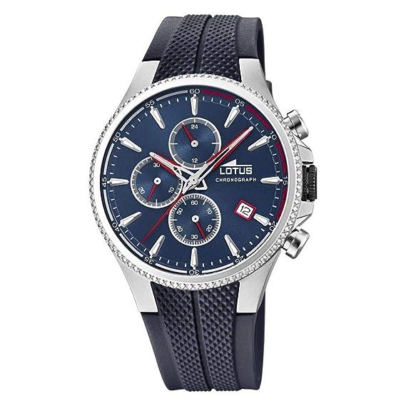 d07317f9ebc2 Lotus 18621/1 - Reloj Cronógrafo para Hombre, de Cuarzo con Correa ...