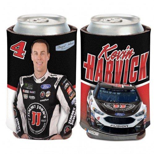 UPC 032085278975, Kevin Harvick NASCAR #4 Jimmy Johns 12 oz Can Cooler - Qty 1