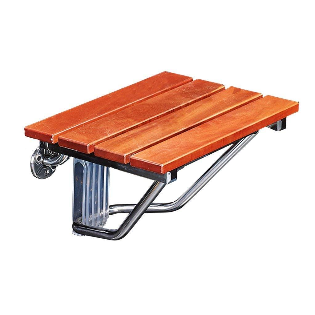 【おしゃれ】 WYT-0909 折り畳み可能な壁のシャワーのスツールと椅子の壁は木製の折りたたみシャワーシートスツール木製の変更靴スノー304ステンレススチールブラケット高齢者 B07FM4WPTQ バスルーム用/障害者のためのアンチスリップヘビーデューティシャワーシートスツール最大。 160kg WYT-0909 バスルーム用 B07FM4WPTQ, 栄進堂:33a97b93 --- ciadaterra.com