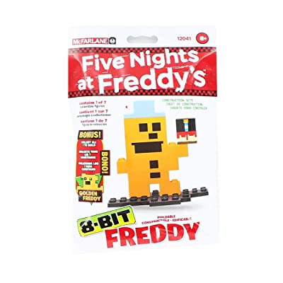 McFarlane Five Nights At Freddy's 8-Bit Buidable Figure: Toys & Games
