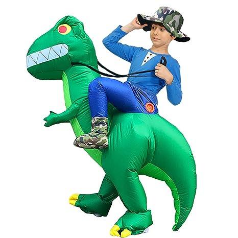 YusellYu Alien - Disfraz Hinchable de Dinosaurio para ...