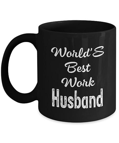 Worlds Best Work Husband Mugs