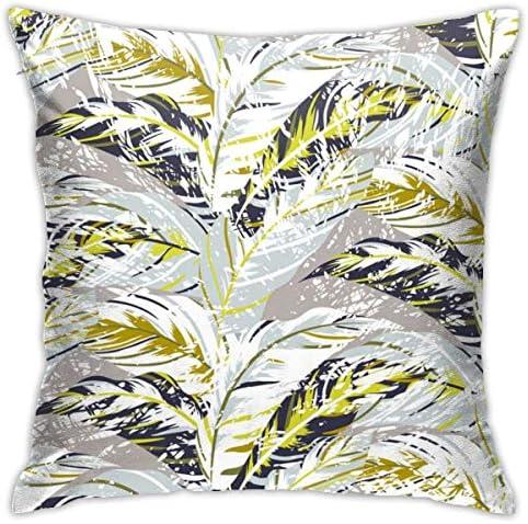熱帯の花柄のパターンベクトル画像小説と興味深い家の装飾的な枕カバークッションカバーソファカバー