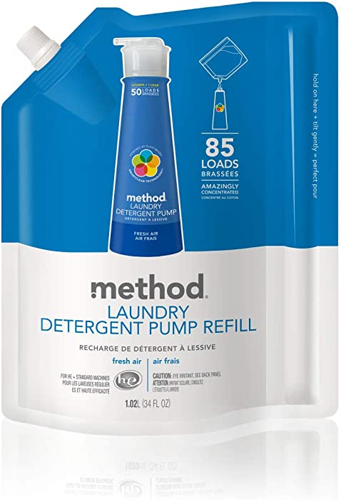 Top 9 Method Laundry Detergent Refill Free And Clear