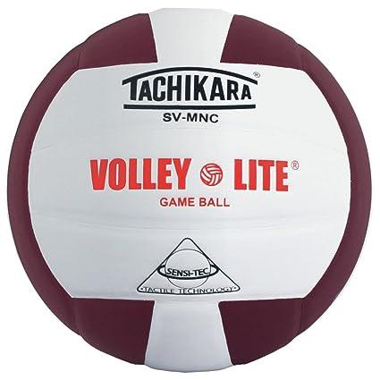 Tachikara SVMNC Volley Lite - Pelota de Voleibol (Negro/Blanco ...