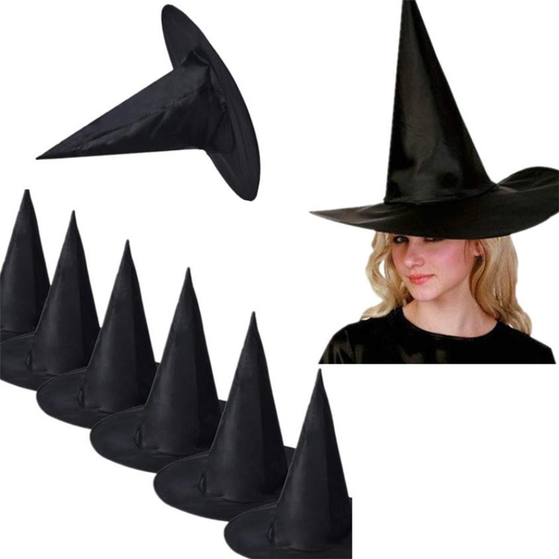 detailed pictures buy best wholesale online Amazon.com: Halloween Hats and caps 10Pcs hat Women's Hats ...