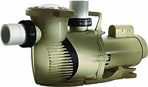 Pentair 022010 WhisperFloXF High Performance Energy Efficient Single Speed Full Rated Pool Pump, 3 Horsepower, 208-230 Volt, 1 Phase