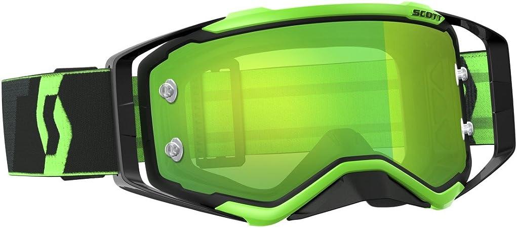 Scott Prospect Mx Goggle Cross Mtb Brille Schwarz GrÃŒn GrÃŒn Chrom Works Auto