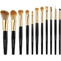 Unimeix 11-Pieces Pro Synthetic Makeup Brushes Set