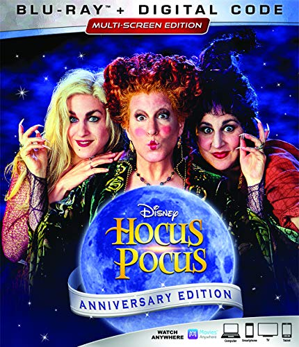 Disney Channel Halloween Movie Times (Hocus Pocus [Blu-ray])