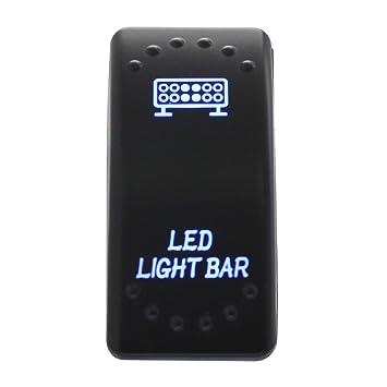 TOMALL 5Pin Ein/Aus-Schalter Refit für LED-Lichtleiste SPST ...