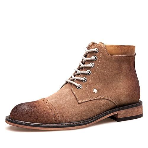 Hombres zapatos vestido escalar montañas otoño aire libre [fondo blando] botas resbalón encendido negro