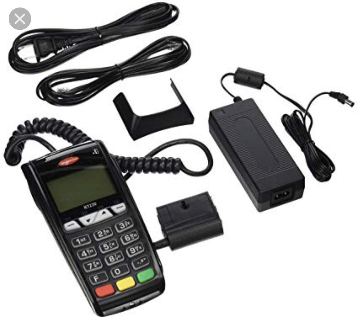 ELAVON Compatible Ingenico ICT220 Dual Com Terminal with Apple Pay and EMV/Smart Card Reader