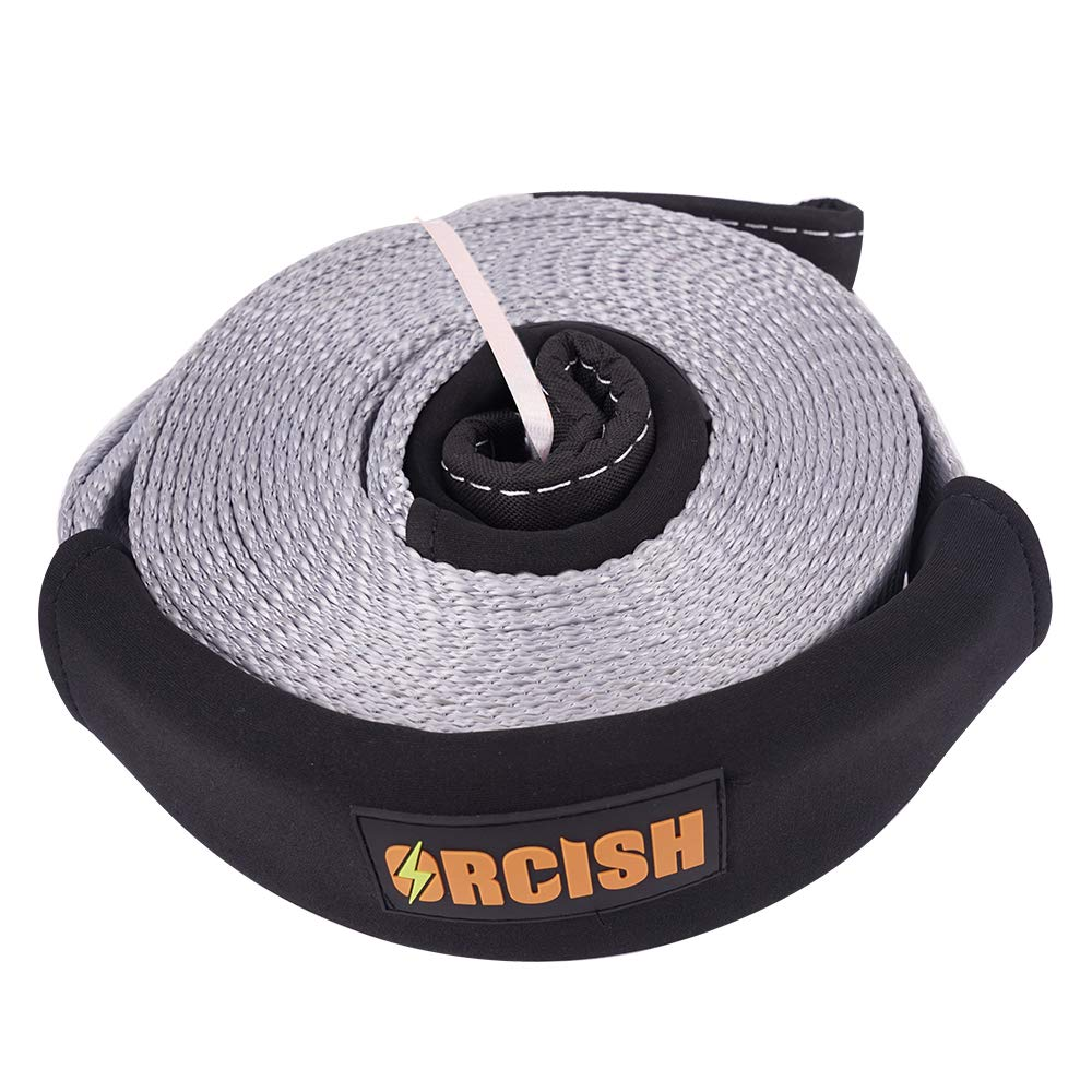 ORCISH 30ft X 3In Tree Saver Recovery Tow Strap Winch Strap17600lb Capacity by ORCISH