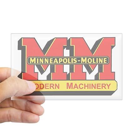 Cafepress minneapolis moline sticker rectangle bumper sticker car decal