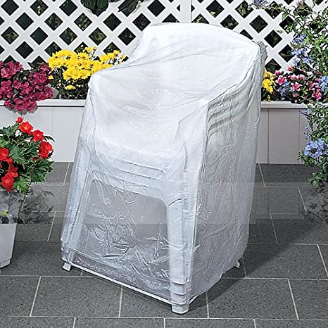 Super Amazon Com Outdoor Vinyl Covers Patio Chair Covers Home Remodeling Inspirations Genioncuboardxyz