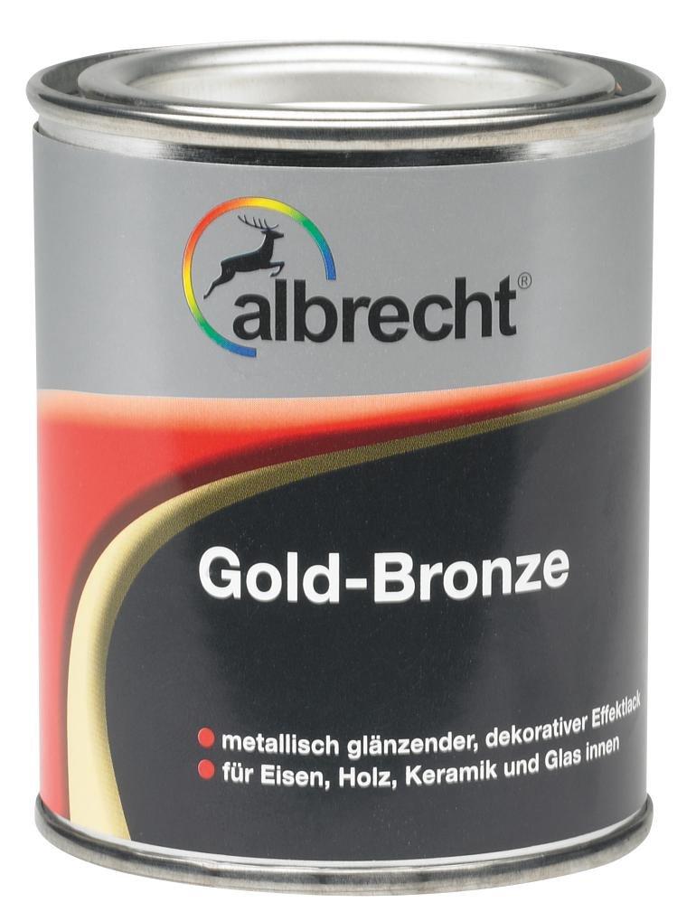 Albrecht Bronze 125 ml, gold, 3400606690000900125: Amazon.de: Baumarkt