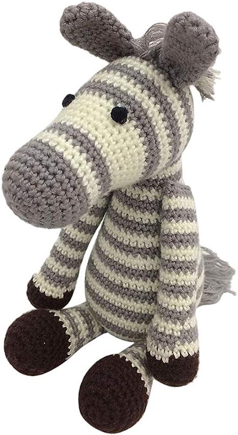 Zebra Mini Häkelset zur Herstellung einer Tierfigur
