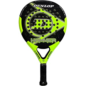 DUNLOP Hammer Pala Padel de Tenis, Unisex Adulto, Amarilla