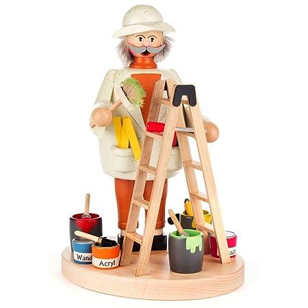 Pintor con escalera alemán quemador de incienso (Fumador) - 8 1/2 ...