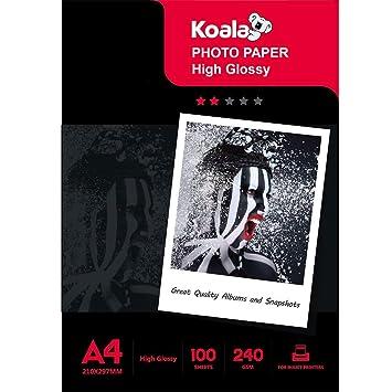 KOALA Heavywight - Papel fotográfico para impresoras de inyección ...