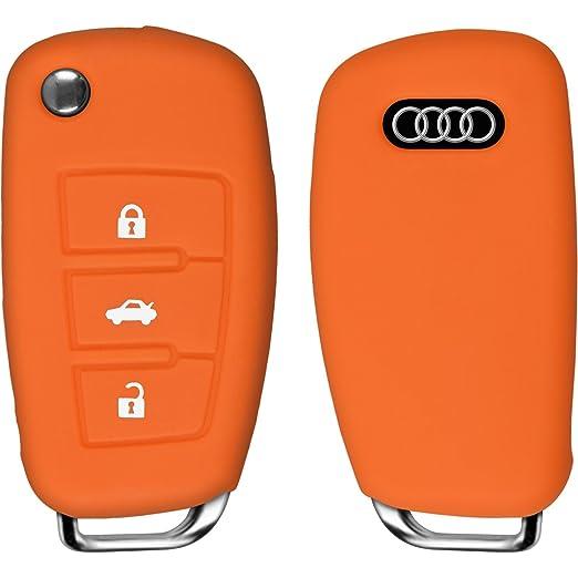 7 opinioni per PhoneNatic cover in Silicone chiavi per telecomando a 3 tasti Audi TT orange