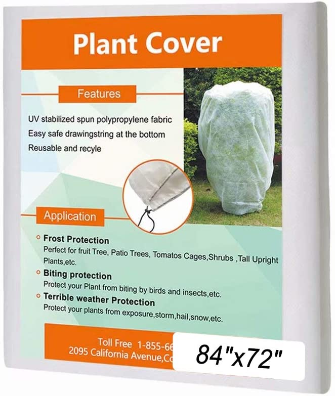 Details about  /Warm Plant Cover Tree Shrub Frost Winter Protection Bag Jacket Garden Protector