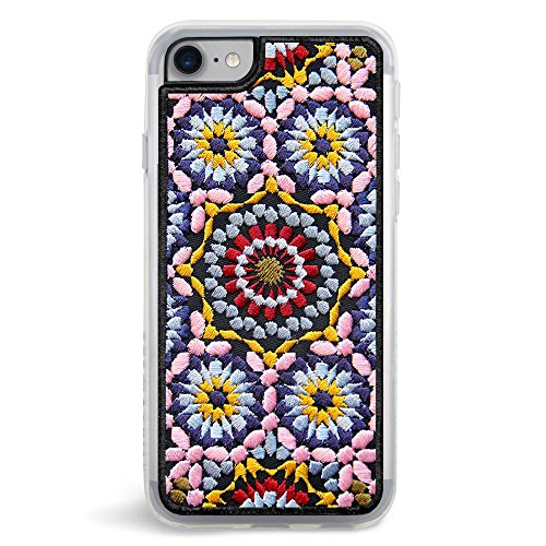 Case Phone Embroidered (ZERO GRAVITY Fashion Cell Phone Case for Apple iPhone 7/8 (Casbah))