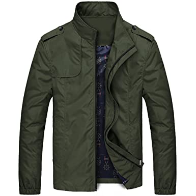 Plaid&ampPlain Men&39s Light Jackets Waterproof Outcoat with Fleece/ No