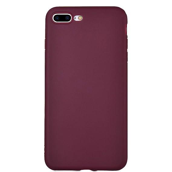 burgundy iphone 8 plus case