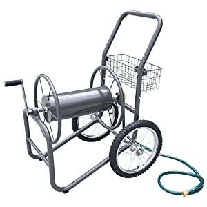Liberty Garden 880-2 Industrial 2-Wheel Pneumatic Tires Garden Hose Reel Cart