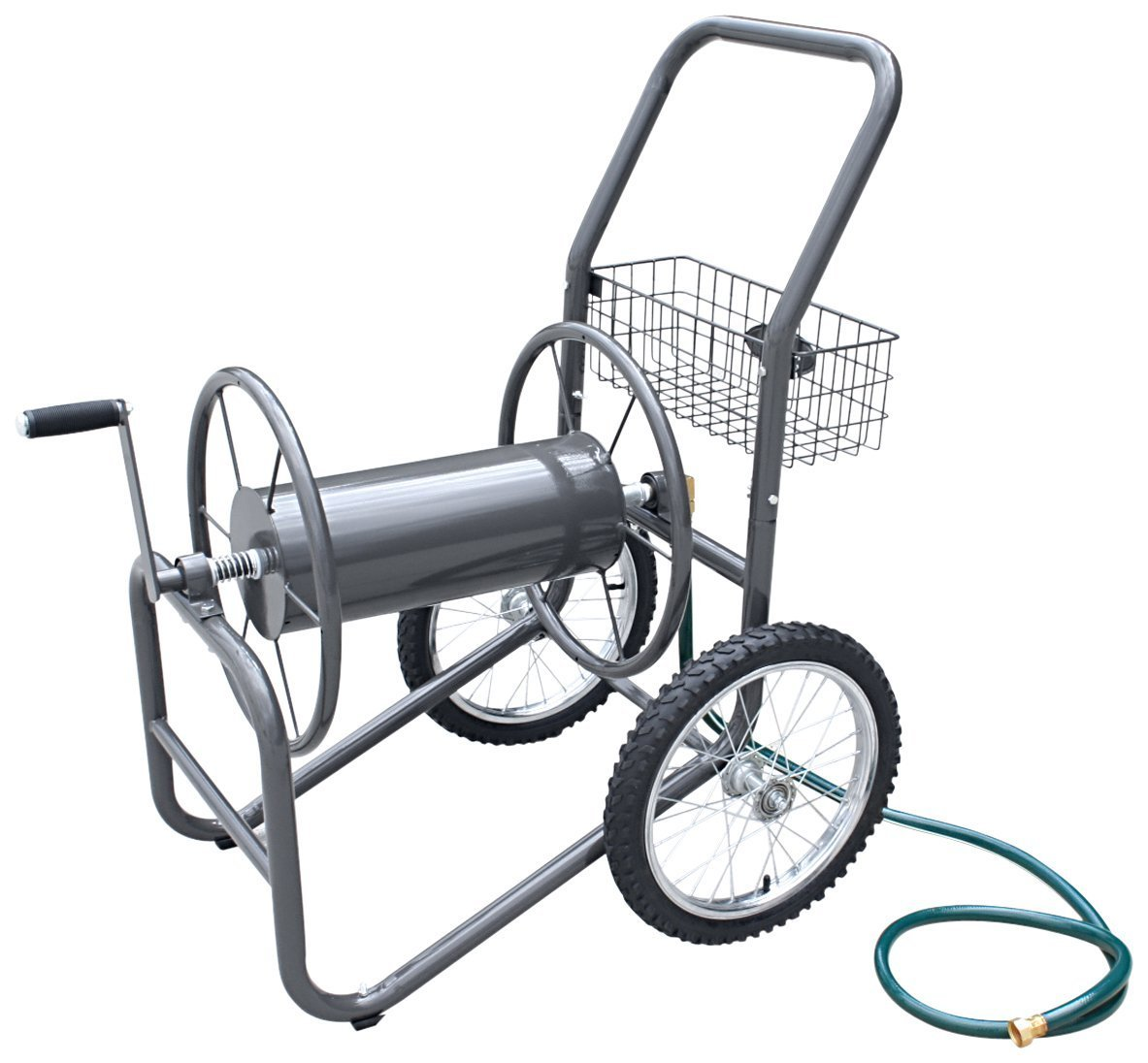 Liberty Garden Products 880-2 2-Wheel Garden Hose Reel Cart