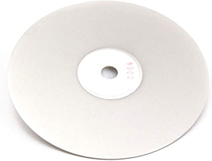 Grit 240 Diamond coated 6 inch Flat Lap wheel Lapidary lapping polishing disc