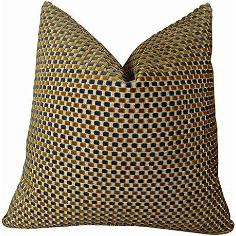 Plutus Prodigious Handmade Throw Pillow Double Sided 18 X 18