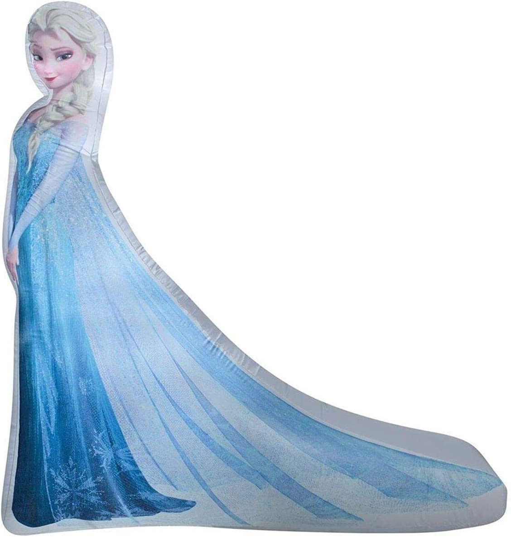 Amazon.com: Gemmy – hinchable, diseño de Elsa de Frozen ...