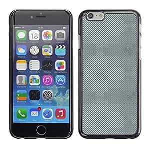 LECELL--Funda protectora / Cubierta / Piel For iPhone 6 -- GRIS Modelo de puntos --