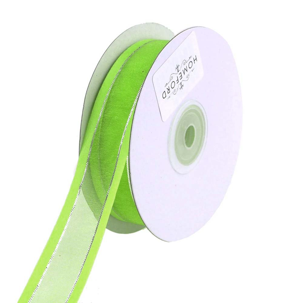 Homeford FCR0SGSSV1102556 Ribbon, 1-1/2, Apple Green 1-1/2