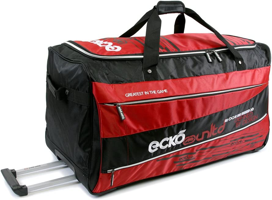 Ecko Unltd. 32 Traction Collection Rolling Duffel, Red