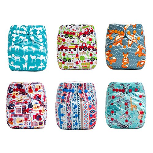 HappyEndings Diapers Charcoal Inserts Hipster product image