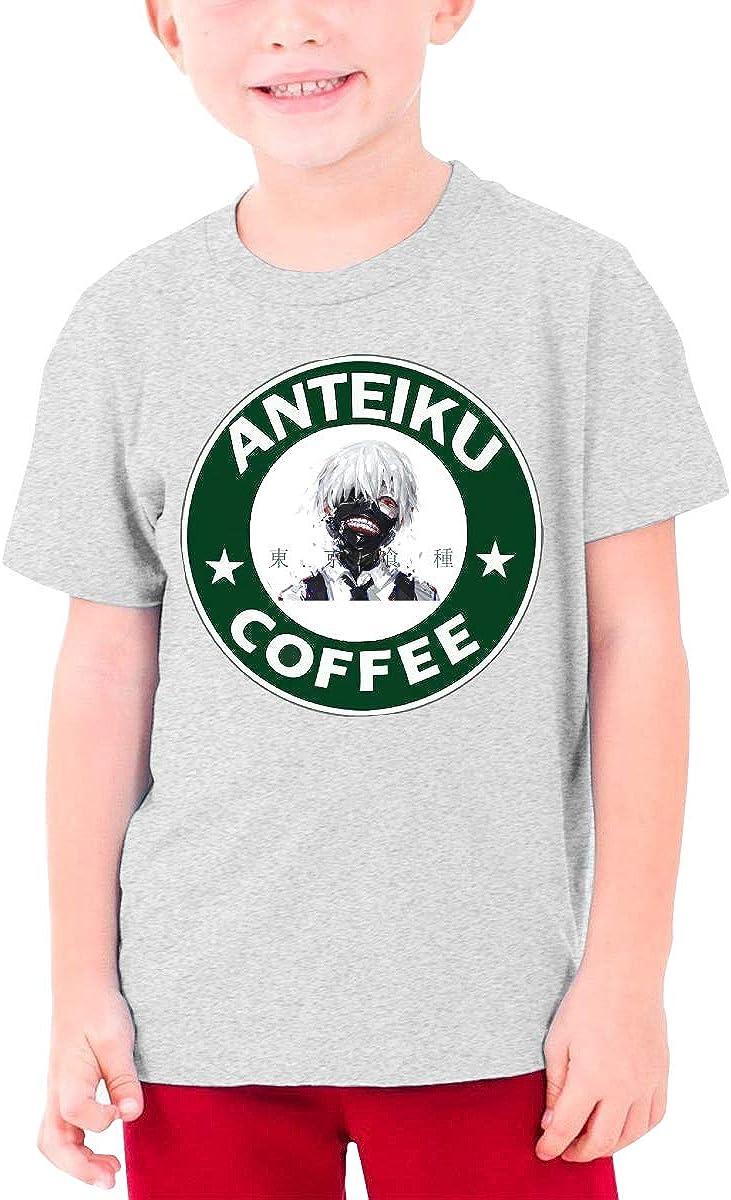 RuiPeng Custom Tokyo Ghoul Roundel Funny Shirt Short Sleeve for Teenagers Black