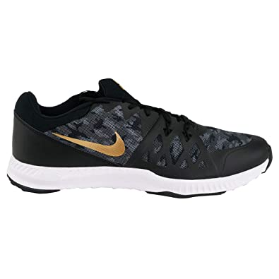 beda70d85926 Nike Mens Air Epic Speed TR 2 SP Black Metallic Gold 921690 001 (10.5