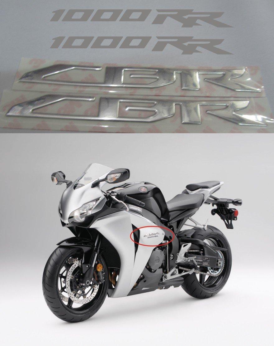 PRO-KODASKIN Motorcycle 3D Raise Emblem Stickers Decal for Honda CBR1000RR 2008-2017