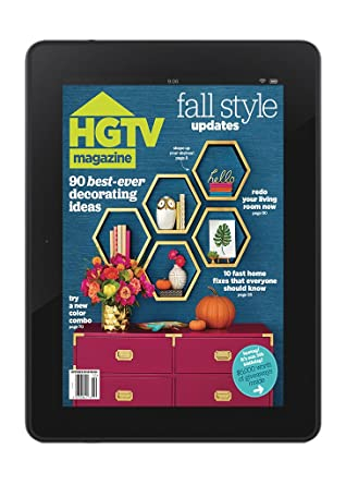HGTV Magazine Digital Access: Amazon.com: Magazines